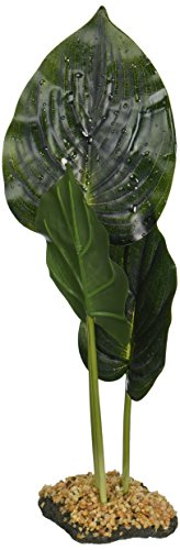 Penn-Plax Dew Drop Canopy Hosta Reptile Habitat Ornament by Penn Plax
