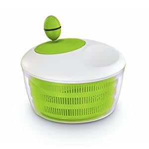 Leifheit Trend 23069 Green and White Salad Spinner 18.5 cm