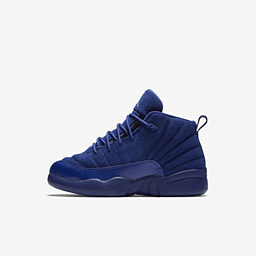 Jordan Retro 12 ''Royal Blue'' Deep Royal Blue/White-Metallic (Little Kid) (2.5 M US Little Kid) by Jordan