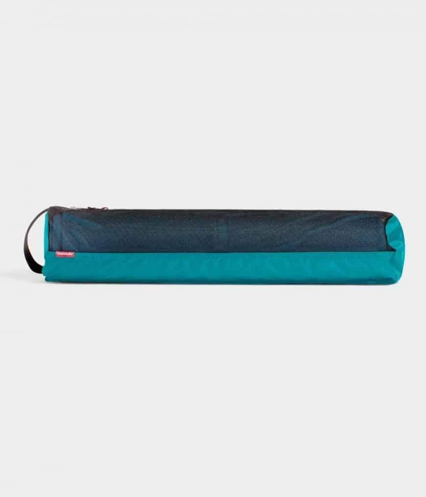 Manduka Breathe Easy Full Zip Yoga Mat Carrier Bag with Pocket, Adjustable Strap, Suitable for Most Yoga Mats