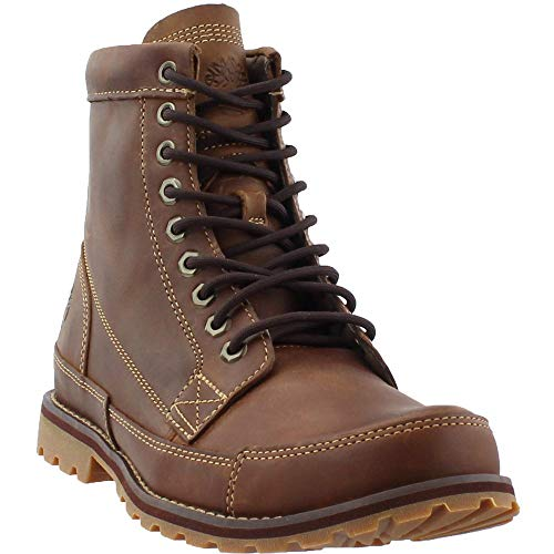 Timberland Men's Earthkeepers 6' Lace-Up Boot, Burnished Brown, 10 M US