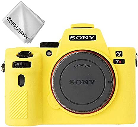 Cuerpo Completo Caucho de TPU Funda Estuche Silicona con Textura Fina para cámara para Sony Alpha A7II/ A7M2 A7RII / A7R2 A7SII / A7S2: Amazon.es: Electrónica