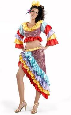 Desconocido Disfraz de rumbera para mujer: Amazon.es: Juguetes y ...