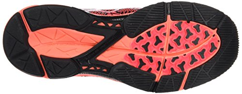 Asics Gel-ds Trainer 21, Zapatillas de Running para Mujer Negro (Black/Flash Coral/Silver)