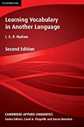 Learning Vocabulary in Another Language (Cambridge Applied Linguistics) by I. S. P. Nation (2013-10-31)