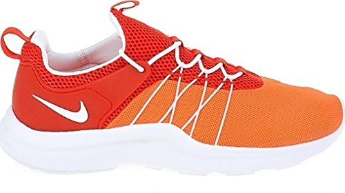 NIKE Men's Darwin Casual Shoes Lightweight Comfort Athletic Running Sneaker Total Crimson/White-Unvrsty Rd