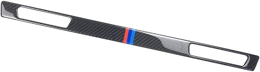 Carbon Fiber Console Glove Box /& Water Cup Holder Cover Trim for BMW 3 Series E90 E92 E93 2005-2012