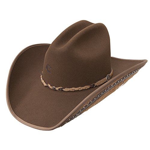 Charlie 1 Horse Rising Star Color Mink Cowboy Hat (6 7/8)