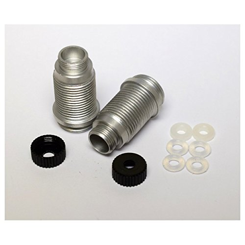 Shock Body Aluminum (Hot Racing VXS15501 Aluminum Hard Anodized Shock Body (Black) - Traxxas 1/16)