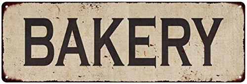 metal bakery sign - 9