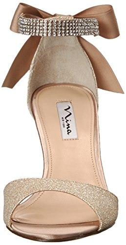 Women's Royal GM Champagne Pump Vinnie Gold Nina Dress dFYxpdO