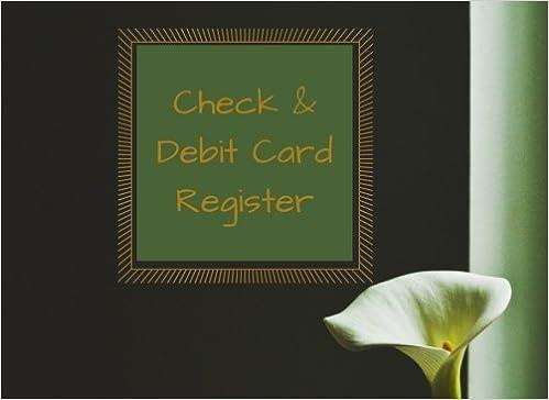 buy check debit card register checkbook register transaction