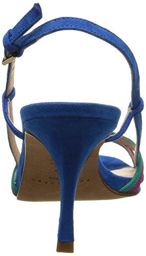 Pura Lopez Ah256 - Sandalias de vestir Mujer Azul