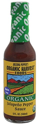 Organic Harvest Gluten Free Jalapeno Pepper Sauce, 5 Fluid Ounce - One Bottle