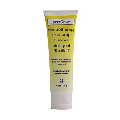 - Thera-Cream Electrotherapy Skin Prep Cream for TENS Electrodes Therapy Intelligent Textiles Conductivity Healing for Dry Cracked Skin 4.2 oz