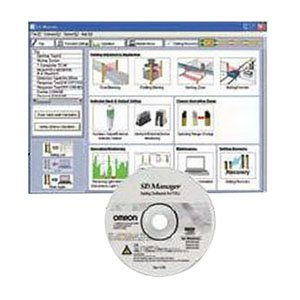 Omron F39GWUM Support Software, For Use With F3SJ-B Series Safety Light Curtains by Omron