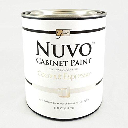 Cabinet Paint Coconut Espresso Quart