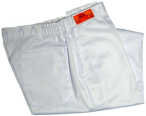 Phoenix White Elastic Waist Chef's Pants, Large by Phoenix