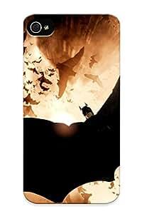 Iphone 4/4s Case Slim [ultra Fit] Description 2012 Batman Movie Protective Case Cover by supermalls