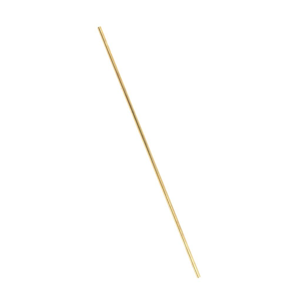 F Fityle Dia 4mm, Brass Round Rod Bar Stock, 10'', Made of Premium Brass 10' '