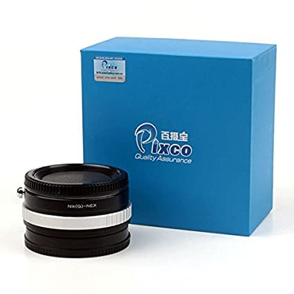 Pixco Focal Reducer Speed Booster Lens Adapter For Nikon G Lens to Sony E  NEX Adapter 6 7 5N 5R F3 3N
