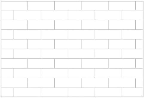 ケイ・ララ 壁紙 はがせる シール 【レンガサブウェイタイル柄の貼ってはがせるのり付き壁紙シール】 幅50cm×15m単位 壁紙 シール リメイクシート