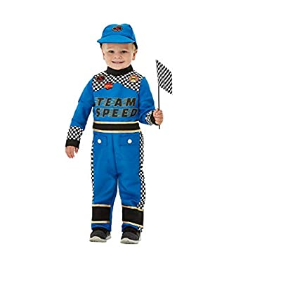 Smiffys Toddler Racing Car Driver Costume: Toys & Games