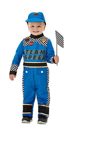 21d4d48d093 Smiffys Toddler Racing Car Driver Costume