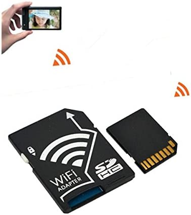 Adaptador de tarjeta SD WiFi Wireless Micro para Smartphone Tablet ...