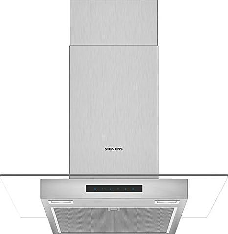 Siemens iQ300 lc66gbm50 Campana a pared acero inoxidable 380 m³/h a campana: Amazon.es: Hogar