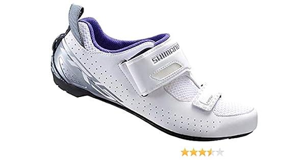 Shimano SHTR5OC400SW00, Zapatillas de Ciclismo de Carretera para Mujer, Blanco (White), 40 EU: Amazon.es: Zapatos y complementos