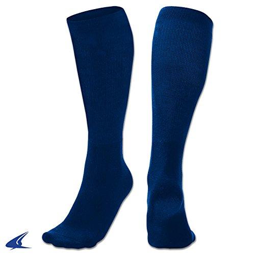 Champroスポーツmult-sportソックス B01MY98TRN Medium|Champro Sports Mult-Sport Socks, Navy, Medium Champro Sports Mult-Sport Socks, Navy, Medium Medium