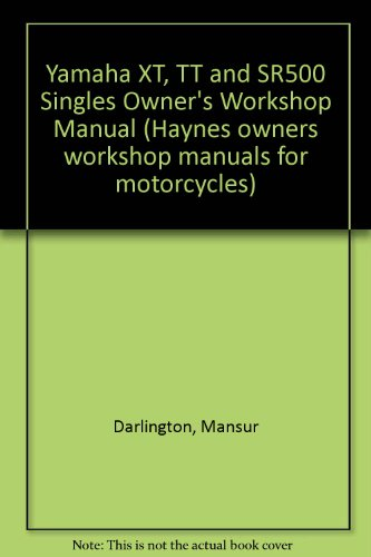 Used, Yamaha XT, TT and SR500 Singles Owner's Workshop Manual for sale  Delivered anywhere in USA