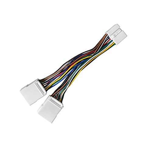 Honda Y Splitter Cable Harness Wire, APPS2Car Splitter Cable for CD Changer Nav USB Adapter Mp3 Interface - Fits Honda Accord Civic CRV Element Odyssey Pilot Fit S2000, Acura CSX MDX RDX (Honda Accord Navigation Disc)