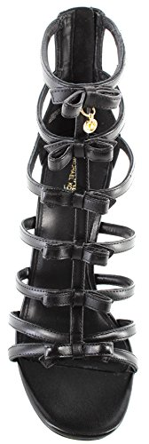 Sandal Veronica De Kors 40S8VRHA1L Michael Black Tacon Zapatos Mujeres Leather RvUBqHW