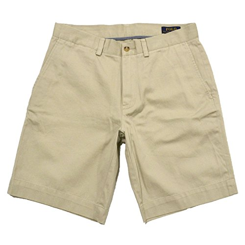 Chino Polo Shorts (Polo Ralph Lauren Flat Front Chino Short (33, Polo Beige))