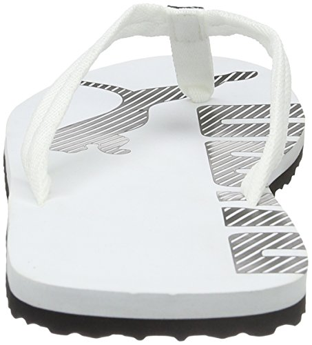 Puma Flip White black Unisex Adulto 08 Blanco V2 Epic Chanclas 4rfxZ4q