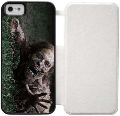 Amazon.com: The Walking Dead iPhone 5S 5 case Zombie Custom Cover ...