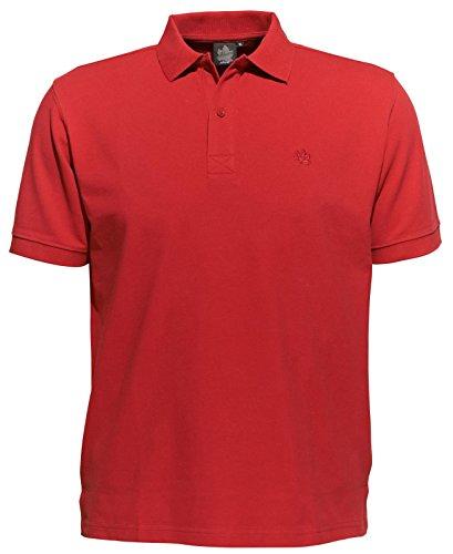 Ahorn Poloshirt rot 7XL-76/78