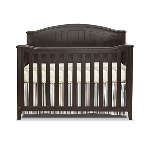 Sorelle Fairview 4-in-1 Convertible Crib, Espresso