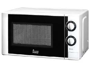 Teka - Microondas Mw20Gblanco 20L, con grill 800W, /1000W Blanco, 5 Niveles De Potencia, Temp. 35 Min., Descongelacion Por Peso Y Tiempo, Tactico