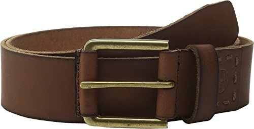 Timberland Men's 40MM Pull Up Jean Belt Brown 1 Belt ()