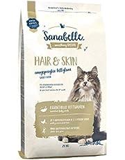 Sanabelle Hair & Skin Kattendroogvoer voor racekatten ter ondersteuning van de optimale vachtuitdrukking
