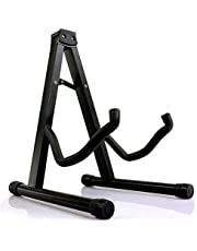 Folding Guitar Stand Floor Rack Electric Acoustic Bass Gig Holder