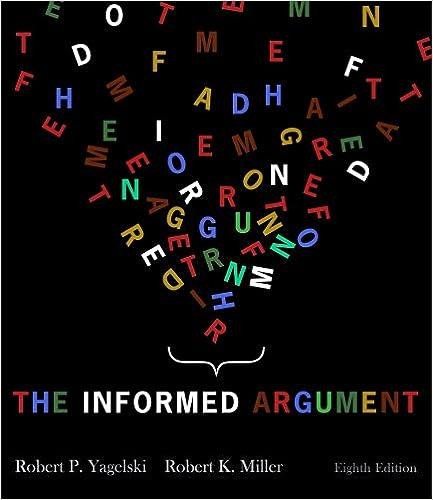 The informed argument robert p yagelski 9781428262300 amazon the informed argument 8th edition fandeluxe Choice Image