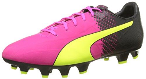 Puma Evospeed Tricks Botas De Tierra Firme Para Hombre Pink Glo-safety Yellow-black 01