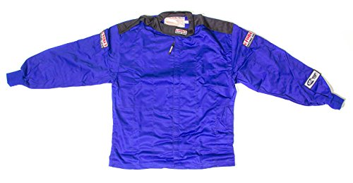 G-Force 4126XXLBU GF 125 Blue XX-Large Single Layer Racing Jacket
