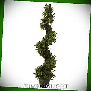 JumpingLight Rosemary Spiral Tree Artificial Flowers Wedding Party Centerpieces Arrangements Bouquets Supplies