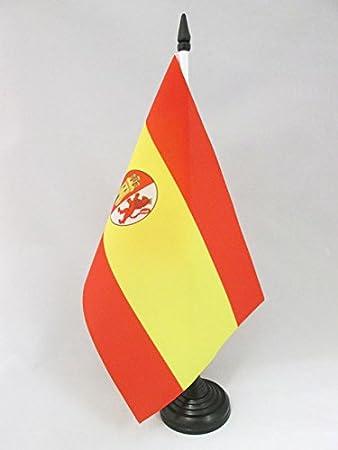 AZ FLAG Bandera de Mesa de ESPAÑA del Bando SUBLEVADO 1936-1938 21x14cm - BANDERINA de DESPACHO Guerra Civil ESPAÑOLA 14 x 21 cm: Amazon.es: Hogar