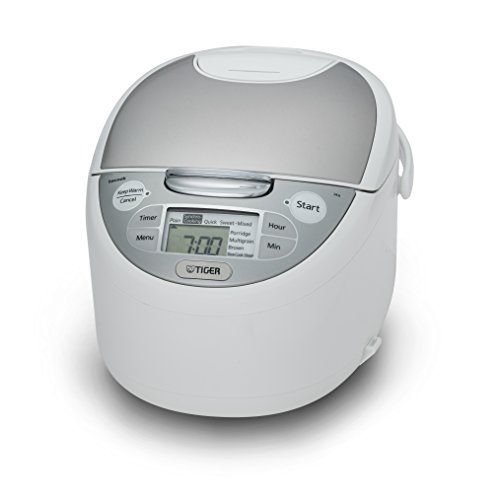Tiger JAX-S10U-WY 5.5-Cup Uncooked Micom Rice Cooker Warmer, Steamer, and Slow Cooker